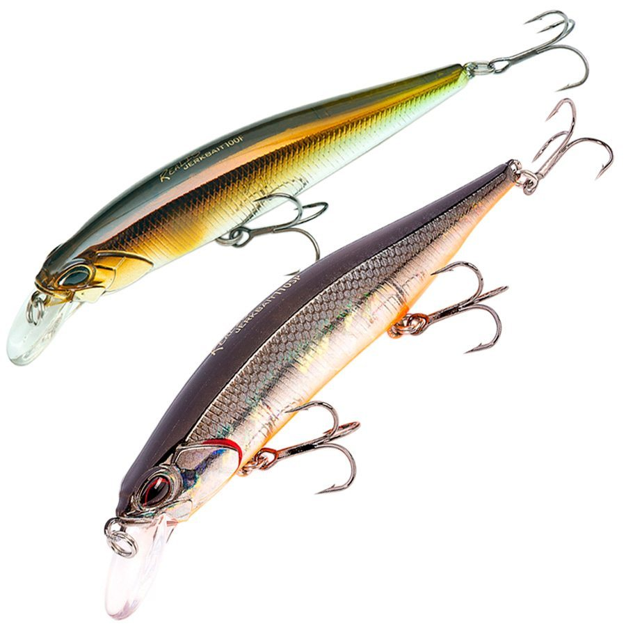100mm 13,7g floating lures DUO Realis Jerkbait 100F