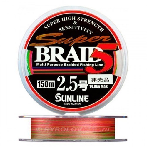 Плетёный шнур Sunline Super Braid 5HG