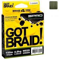 Плетёный шнур SPRO Got Braid