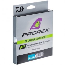 Флюорокарбон Daiwa Prorex Fluorocarbon Leader Super Soft 50m 0.30mm