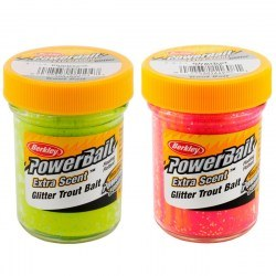 Форелевая паста Berkley PowerBait Select Glitter Trout Bait