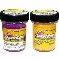 Форелевая паста Berkley PowerBait Natural Scent Glitter Trout Bait