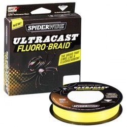 Плетёный шнур SpiderWire Ultracast Fluoro-Braid