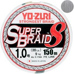 Плетёный шнур Yo-Zuri/Duel Super Braid 8 150m #0.8