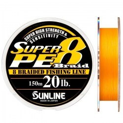 Плетёный шнур Sunline Super PE 8 Braid
