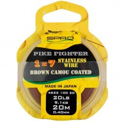 Pike Fighter 1x7 Brown Coated Wire